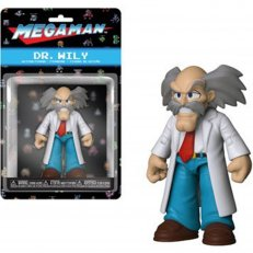 Dr. Wily - Mega Man Action Figure