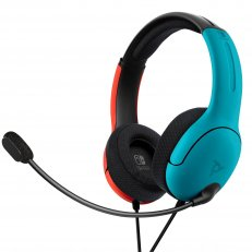 Switch LVL40 Stereo Headset - Blue/Red