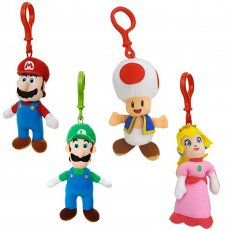 Nintendo Plush Hangers W2 24PC PDQ Assortment