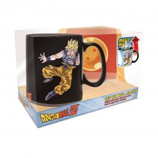 Dragon Ball Z - Goku vs Kid Buu Magic Mug & Coaster Gift Set