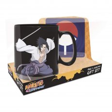 Naruto and Sasuke Magic Mug & Coaster Gift Set