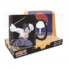 Naruto and Sasuke Magic Mug & Coaster Gift Set