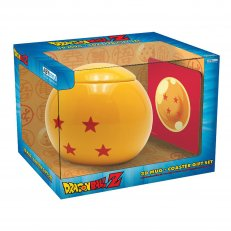 Dragon Ball Z - 3D Dragon Ball Mug and Coaster Gift Set