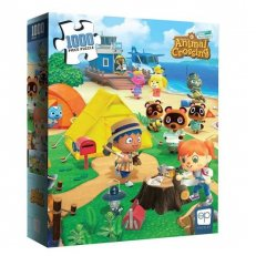 """Animal Crossing: """"Welcome to Animal Crossing"""" Puzzle-1000pc"""
