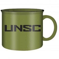 . Halo UNSC Green Ceramic Camper Mug