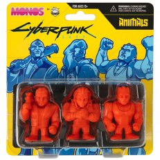 Cyberpunk 2077 Monos Animals Set Series 1 Figures