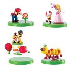 Super Mario Buildable Figures - Blind Box - 12-PC PDQ