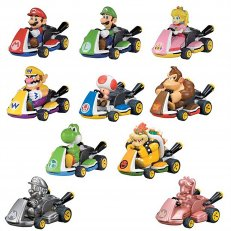 Mario Kart Pullbacks Racers - Blind Box - 12-PC PDQ