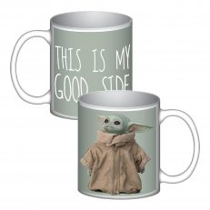 "Star Wars Mandalorian ""The Child"" Good Side Ceramic Mug"