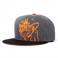 Crash Bandicoot Embroidered Snapback