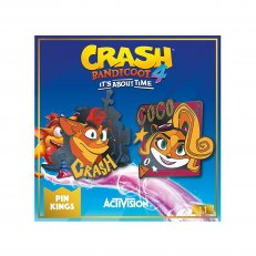 Crash Bandicoot - Pin Kings 1.1 - Set of 2 (Crash & Coco)