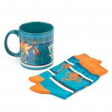 A Crash Bandicoot Mug/Socks Gift Set