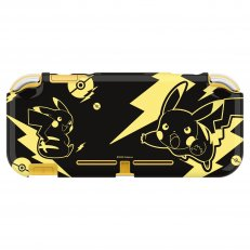 Switch Lite DuraFlexi Protector (Pikachu Black & Gold) Case