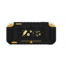 Switch Lite Hybrid System Armor - Pikachu Black and Gold