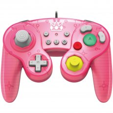 Switch Battle Pad Wired Controller - Peach (Hori)