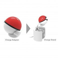 Pokeball Drop & Charge Stand