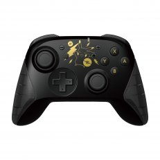 Pikachu Black and Gold Wireless Horipad Controller