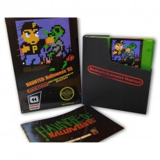 Haunted Halloween 85 - NES Cartridge Game