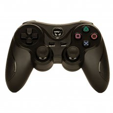 PS2 Black Wireless Controller - Similar To DS2