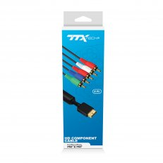 TTX Tech HD Component Cable for PS2 and PS3