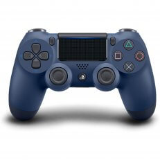 PS4 DualShock 4 Wireless Controller - Midnight Blue - Asian