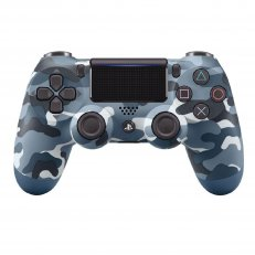 PS4 DualShock 4 Wireless Controller - Blue Camo