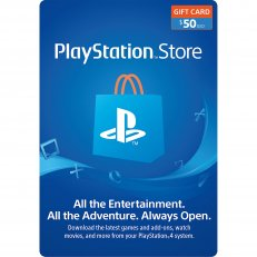 Playstation Store GiftCard $50 Value
