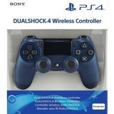 PS4 DualShock 4 Wireless Controller - Midnight Blue - UAE