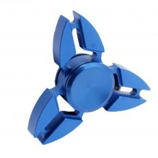 Chrome Tr-Spinner - Blue