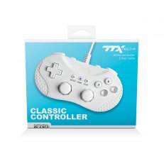 TTX Tech Classic Wired Controller for Wii and Wii U - Whit
