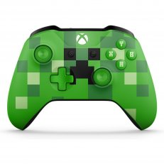 Xbox One S Wireless Controller - Minecraft Creeper