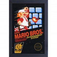 Super Mario Bros. Cover 11x17 Framed Gel Coated Poster