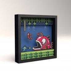 Pixel Frames - Mega Man 2 - Lantern Fish