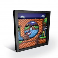"Pixel Frames - Sonic the Hedgehog: Loop Scene 6""x6"""