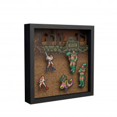 "Pixel Frames - Golden Axe 9""x9"""