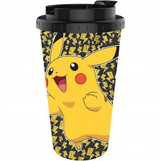 Pokemon Pikachu Happy Glitter Bolt Jump Travel Cup