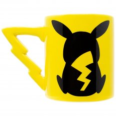 Pokemon - Pikachu Bolt Sculpted Handle Ceramic Mug