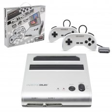 RetroDuo SNES & NES Dual 2in1 System Silver-Black