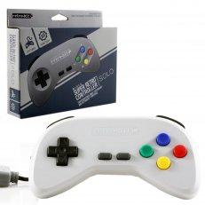 SNES Wired Super Retro Controller - Grey