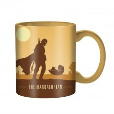 Star Wars - The Mandalorian Silo Scene Jumbo Ceramic Mug