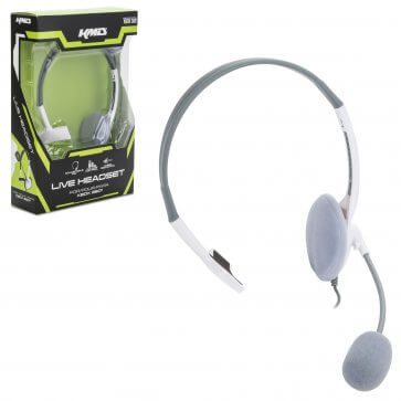 Xbox 360 Wired LiveChat Headset