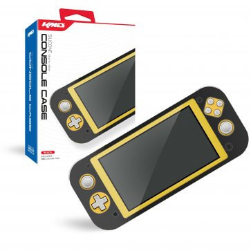 Black Silicone Console Case for Switch Lite