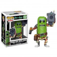 POP - Rick and Morty - Pickle Rick w/ Laser