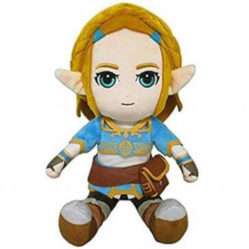 """Zelda - BOTW Princess Zelda 12"""" Plush"""