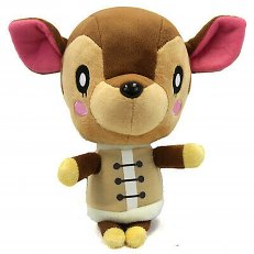 "Animal Crossing - Fauna 7"" Plush"