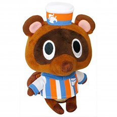 "Animal Crossing - Timmy Store Clerk 5"" Plush"