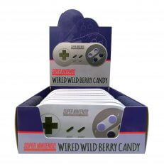 Super Nintendo Controller Wired Berry Sours (12-Pack)