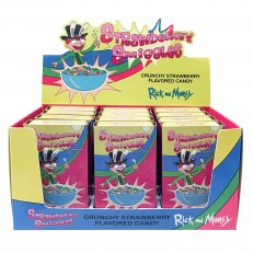Rick and Morty - Strawberry Smiggles Tin - 12 Pack