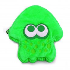 Switch Splatoon 2 Plush Pouch Green