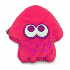 Switch Splatoon 2 Plush Pouch Pink